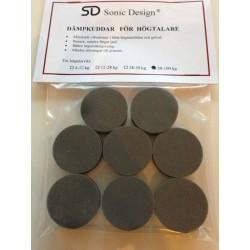 Sonic Design Dämpkuddar Standard 50-100 Kg