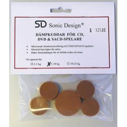 Sonic Design Dämpkuddar CD/DVD/SACD 5-10 Kg